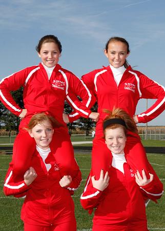 SN MS Cheerleading Team 12-13