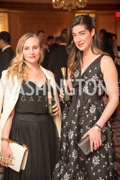 Meighan Fogarty, Lacey Burke, Harvard Business School, Leadership Gala, DC, The Four Seasons, June 13, 2018.  Photo by Ben Droz.