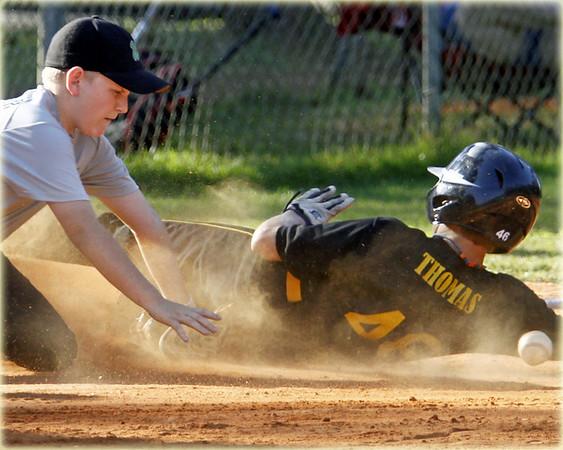 Winthrop Park Baseball: MadDogs vs TEC