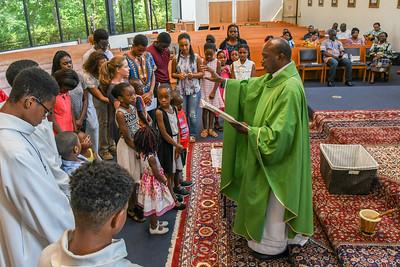 Back to School Celebration Mass 8-20-17