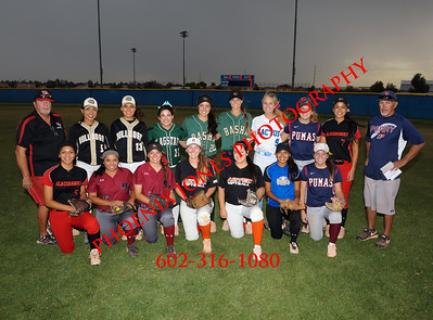 6-4-2015 - AIA D1 and D2 Softball Game