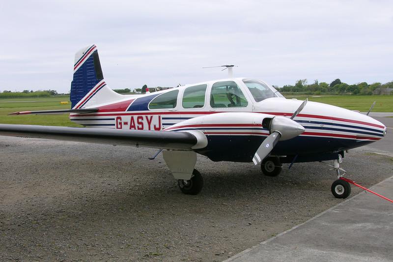 G-ASYJ-BeechD95ATravelAir-Private-EGJJ-2005-05-20-DSCN1007-KBVPCollection.JPG