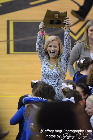 02-01-2014 Blake HS Poms MCPS County Championship Division 1,  Photos by Jeffrey Vogt Photography & Kyle Hall