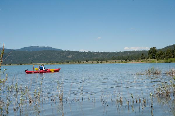 Lake Davis - Bike and kayak