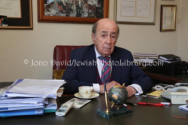 BOTSWANA, Gaborone. Richard Lyons, attorney, Honorary Consul to Israel and Hungary, Chairman of the Jewish Community of Botswana (8.2013)