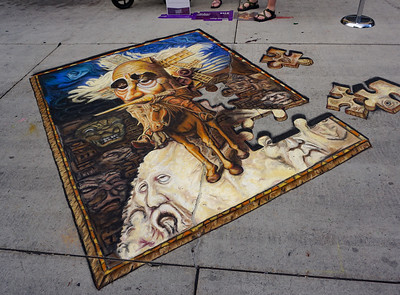 2016 Salt Lake City Chalk Art Festival