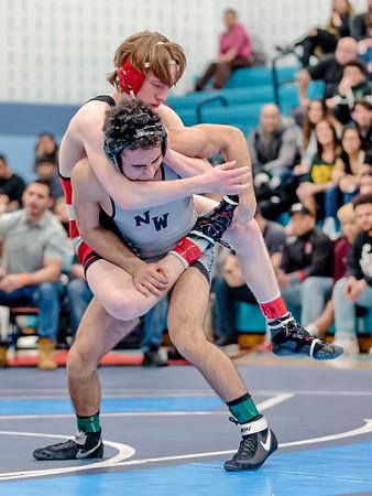 20190223 Varsity Wrestling 4A-3A West Region Championship
