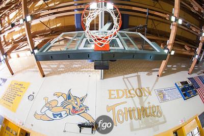 2-28-13 Columbia Heights v Minneapolis Edison Girls Basketball
