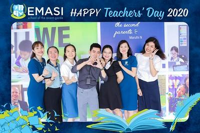 EMASI | Vietnam Teacher's Day instant print photo booth @ EMASI Van Phuc Campus | Chụp hình in ảnh lấy liền Ngày Nhà giáo Việt Nam 20/11 | Photo Booth Vietnam