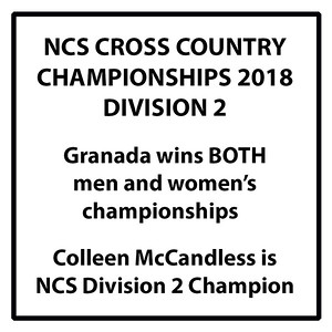181120 NCS XC CHAMPIONSHIPS - RESULTS