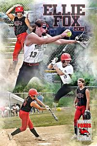 2021 Ellie Fox Softball Poster
