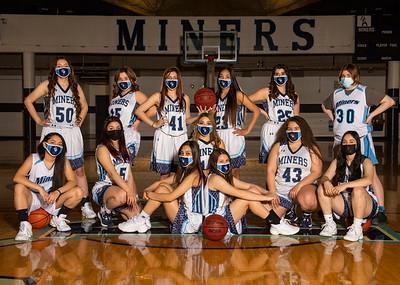 THS Lady Miner Basketball 2021