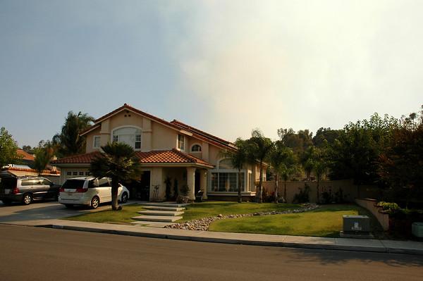 Witch Creek Fire 2007