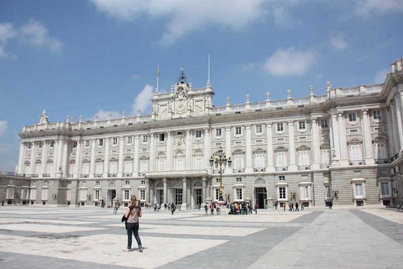Finally, we got to go inside the Palacio Real.  No Spanish royalty today.
