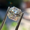 3.30ct Vintage Asscher Cit Diamond GIA J VS1 35