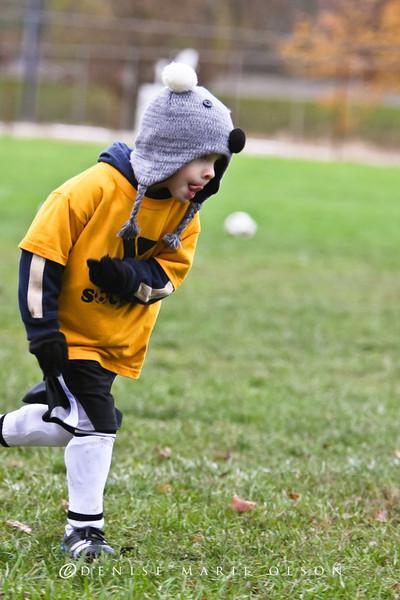 October 29, 2011 - YMCA Youth Soccer