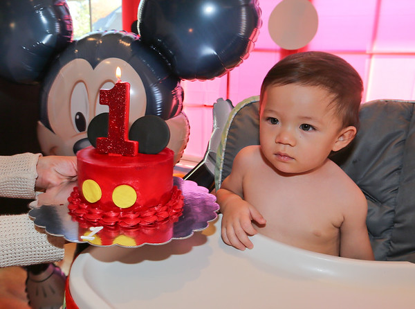 Gabriel's 1st birthday