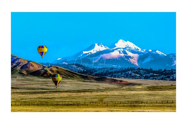 Hot Air Balloons South Park, Colorado