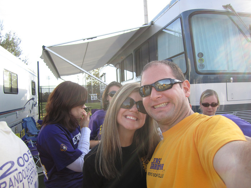 11/19/2011 ECU vs University of Central Florida - Jen, Jon