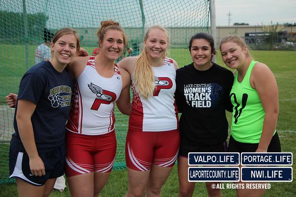 IHSAA Track & Field Regionals (Girls) 2017
