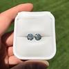 4.08ctw Old European Cut Diamond Pair, GIA I VS2, I SI1 63