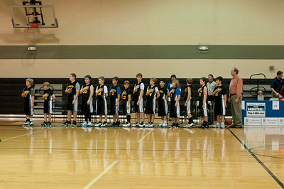 Village School Basketball 2010-2011