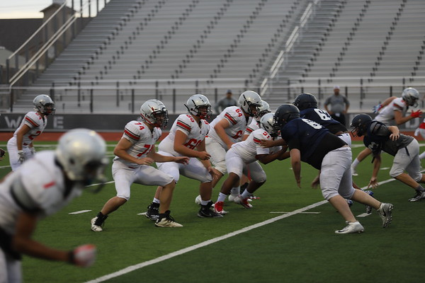 Wylie East Scrimmage 8-23