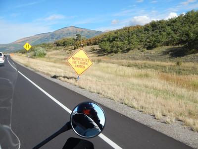 Day 10, Pagosa Springs CO. to Williams AZ, 9-27-2014