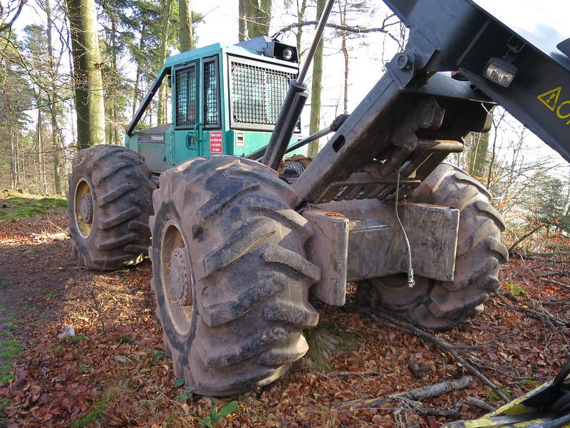 Bosbouwmachine