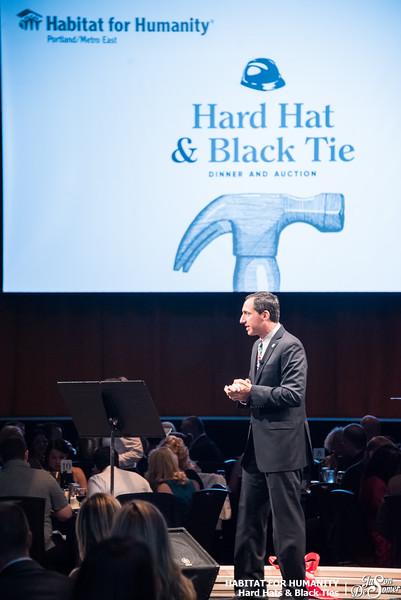 Habitat for Humanity - Hard Hats and Black Ties