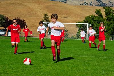 Mustang Soccer 2010 Team Revolution Game 5 & 6