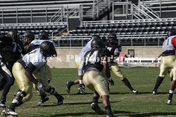 Football Spring Scrimmage 2013