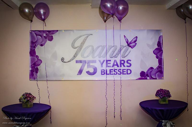 Joann Smith's 75th BDay Party