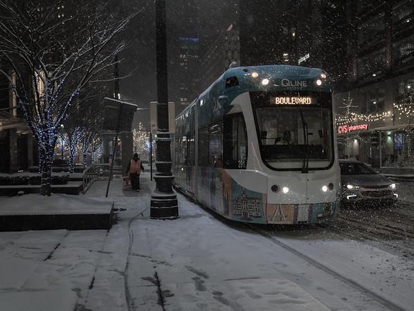 Winter in Detroit