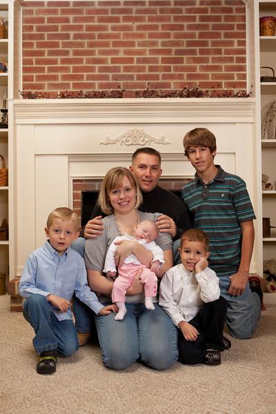 The Thayer Family 2010
