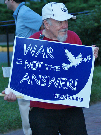 Demonstration Against Syria Attack - Lewes, Delaware - 9/9/13