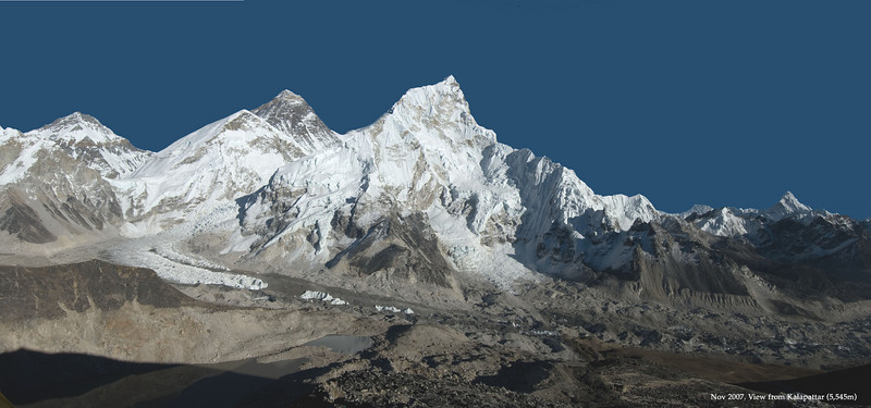 Trekking to Everest Base Camp - Nov 2007