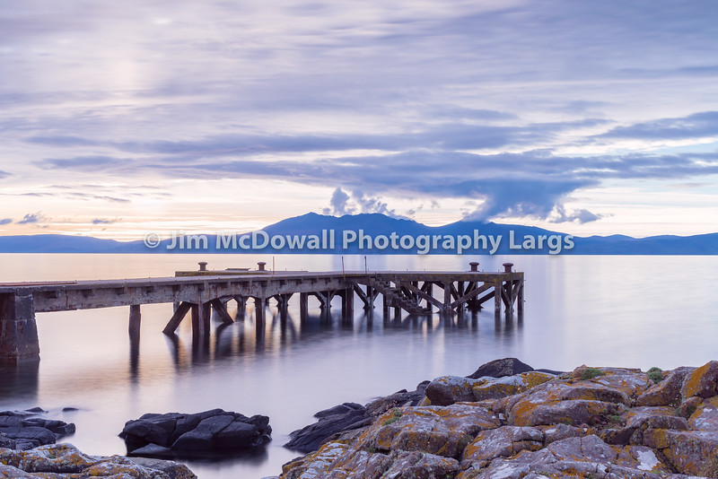 The Old Jetty at Portencross