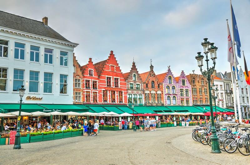 Markt Square - Bruges, Belgium
