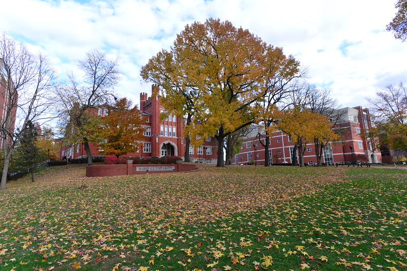 Old Main in Fall 2013