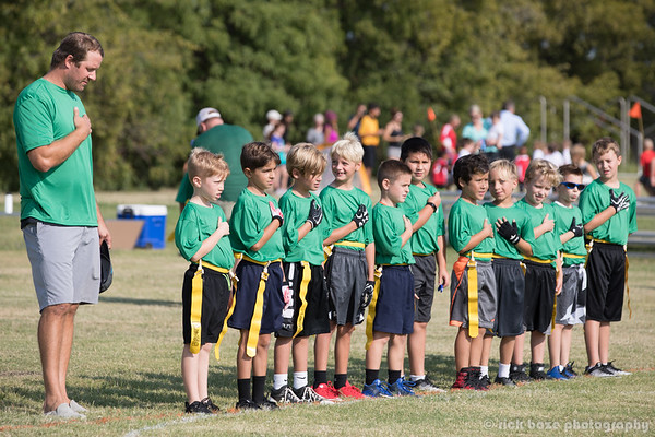2017 YMCA EAGLES FLAG FOOTBALL 8U