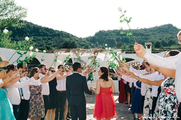 Finca Seguro - Zeremonie und Apero