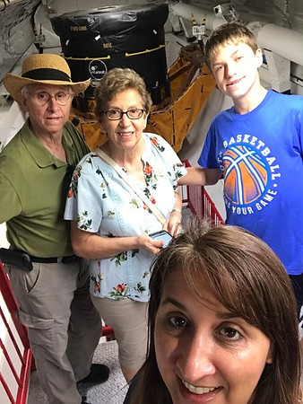 2019-06-04 NASA with mom and dad