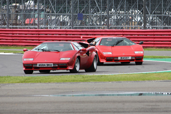 Silverstone Classic 2021 - Lunchtime Celebration Parades