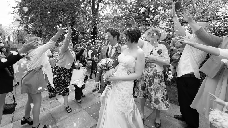 Laura and Scott - Newcastle under Lyme Wedding Photography, Staffordshire