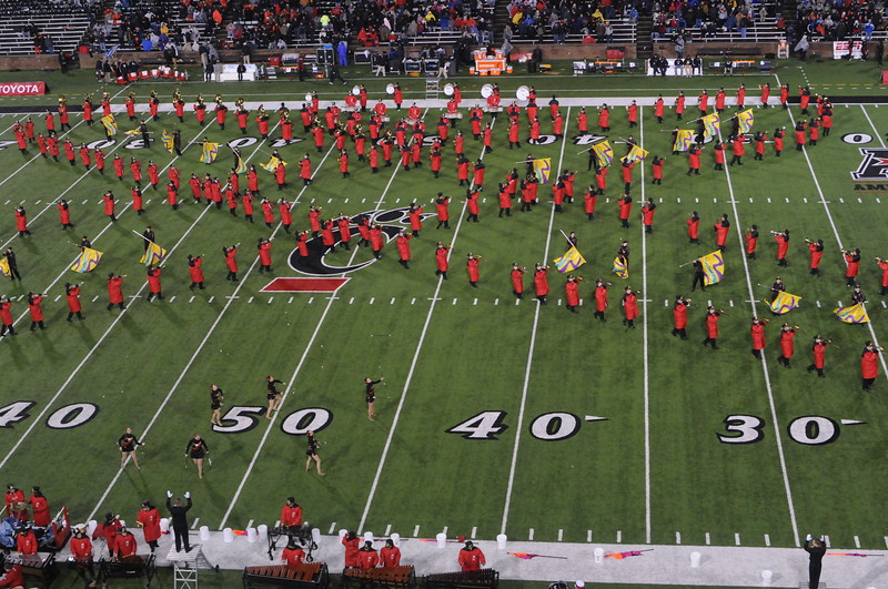 UC Band_UC vs Louisville_Nippert Stadium_Cincinnati, OH