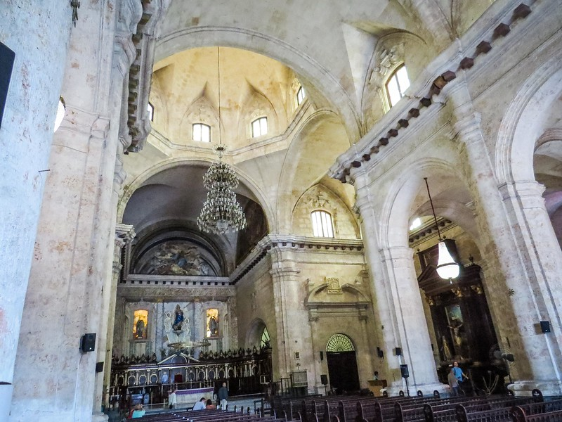 This is the largest Roman Catholic Cathedral in Cuba.