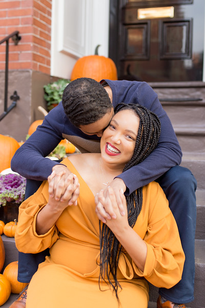 Jasmine & Marcus' Beacon Hill Engagement
