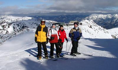 Skiing - Austria 2008