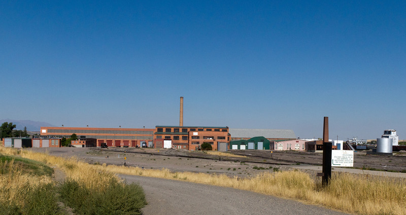 This is the railroad repair shops where Dave worked for 15 years.  Still in operation, but not as busy in past years.